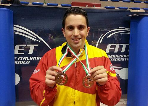 Jorge Cardona, plata y bronce en el europeo de 2013 en Italia