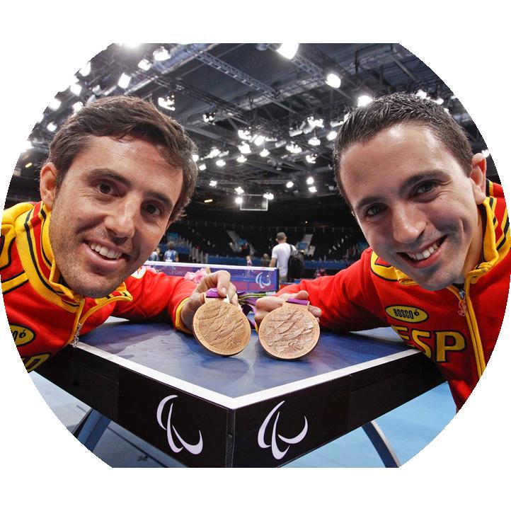 José Manuel Ruiz y Jorge Cardona, medalla de bronce en equipos en Londres 2012