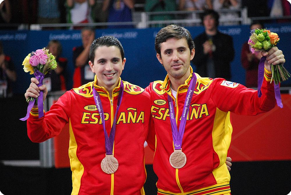 Jorge Cardona y José Manuel Ruiz, medalla de bronce en Londres 2012
