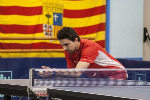 Jorge Cardona en los Campeonatos de España
