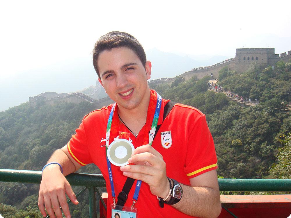 Jorge Cardona, medalla de plata en Pekín 2008